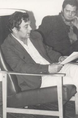 Bella István és Simonffy András a 70-es évek elején