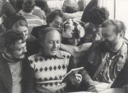 Útban Szibéria felé: Bella István, Ágh István, Szunyoghy András, 1978 májusában