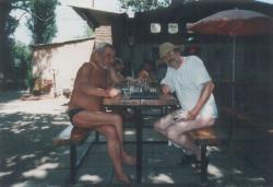 Aczél Gézával Szigligeten (2001)