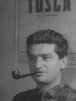 Az Esti Pécsi Napló szerkesztőségében (1962)