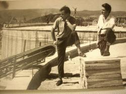 Lázár Ervin és Bertha Bulcsu az NDK-ban