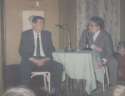 A Rátkai Klubban: Bertha Bulcsu, Gyurkovics Tibor