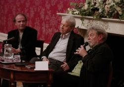 Csuhai István, Bertók László és Parti Nagy Lajos (2010. december 7., DIA)