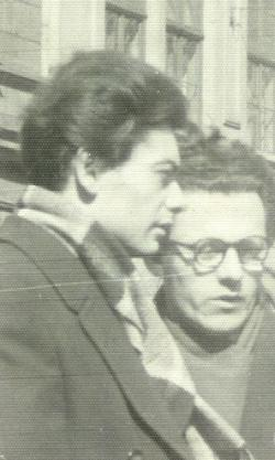 Csoóri Sándor és Takács Imre