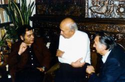 Csoóri, Illyés Gyula és Sinkovits Imre
