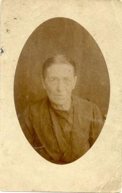 Apai nagyanyja, Juhász Mária 66 éves korában, 1917-ben.