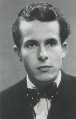 1940. Portré. (Kozma Márton felvétele.)