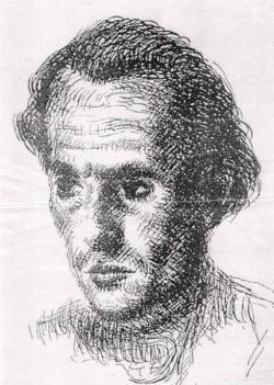 1948. Martyn Ferenc tusrajza Csorbáról.