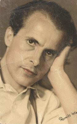 1950. Portré. (Ruzsits fotó.)