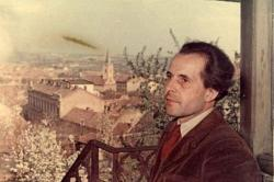 1958. Portré az őrtoronyban.