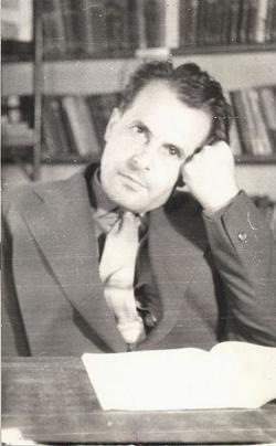 1960. Portré a Baranya Megyei Könyvtárban.