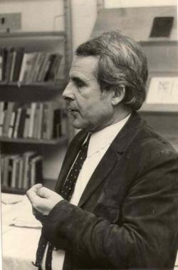 1981. Portré. (A Baranya Megyei Könyvtárban.)