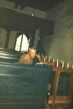 1988. május 11. A mánfai templomban.