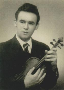 A leendő hegedűművész Tarhoson