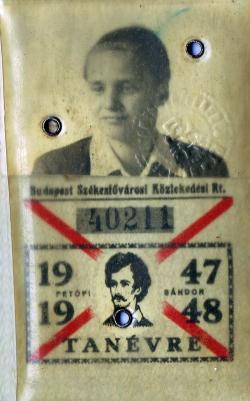 BESZKÁRT-bérlete, 1947-48.