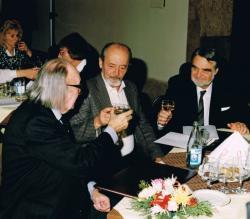 Hernádi Gyula, Gyurkovics és Mészöly Dezső, 1992