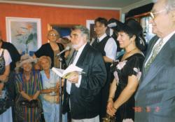 Gyurkovics, Szász Endre és Hajdu Kati, 1998