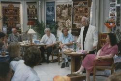 A várbeli Litea könyvesboltban, 1997 könyvhét (Szakolczay Lajos vezette be)