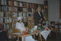 Első látogatás és előadás Gyomaendrődön – szülőváros, 1994