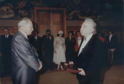 A Kossuth-díj átadása a Parlamentben