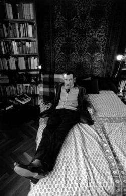 Petri György (fotó: Szebeni András)