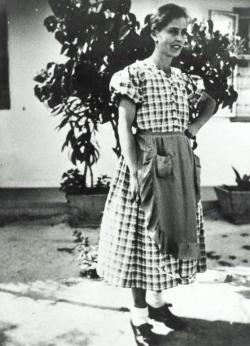 Juhász Ferenc édesanyja, Andresz Borbála
