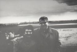 Sven Delblanc társaságában