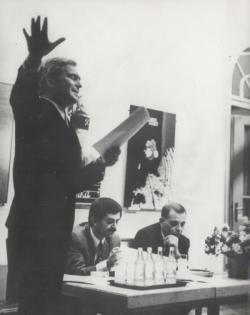Juhász Ferenc szerzői estje Miskolcon, Latinovits Zoltánnal és Kass Jánossal