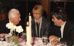Juhász Ferenc és felesége Kosáry Domokossal (fotó: a Széchenyi Irodalmi és Művészeti Akadémia Archívuma, Fáy Béla felvétele)