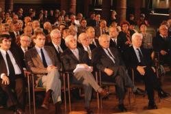 A Széchenyi Akadémia közgyűlésén (fotó: a Széchenyi Irodalmi és Művészeti Akadémia Archívuma, Fáy Béla felvétele)