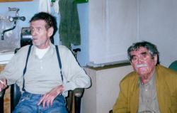 Csernus Tibor és Juhász Ferenc Párizsban