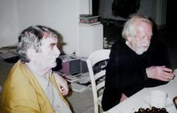 Juhász Ferenc és Hantai Simon Párizsban