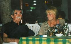 Juhász Ferenc és felesége Horvátországban