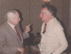 Tatai Sándorral a Pen Clubban, 1982