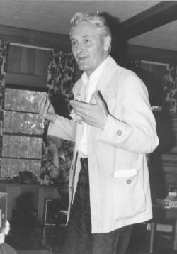 Kányádi Sándor, USA, Lake Hope, 1981