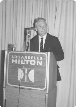 Kányádi Sándor, USA, Los Angelesben, 1981