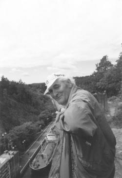Kányádi Sándor Észak-Svédországban, 1993