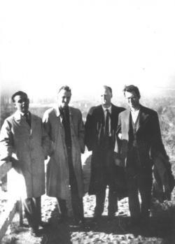 Kormos István, K. S., Réz Pál és Bajor Andor, 1968