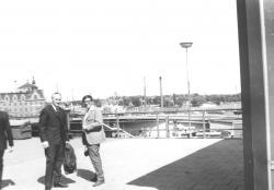 Thinsz Gézával Stockholmban, 1971