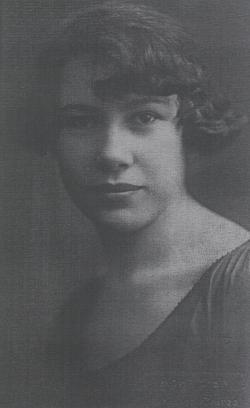 Édesanyja, Jakab Aranka (1924)
