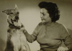 Első felesége, Vas Albina (1949 körül)