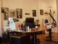 Budapesti dolgozószobája