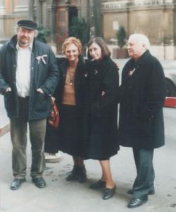 Március 15-én, Pesten Ágh Istvánék és Lázár Ervinék