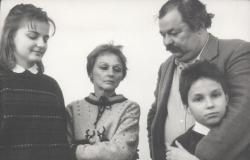 Lázár Ervin és családja