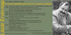 Emlékezés a 75 éve született Lázár Ervinre (a DIA rendezvénye, 2011. május 5.)