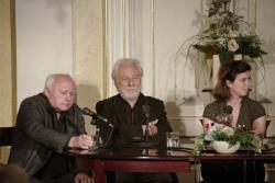 Ágh István, Szakonyi Károly és Kovács Eszter (DIA)