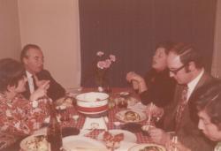 Baráti vacsorán Bázelben (1972)