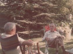 Zsolt Istvánék kertjében (1987)