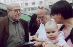 A budapesti Könyvhéten Murányi Gáborral, 2006