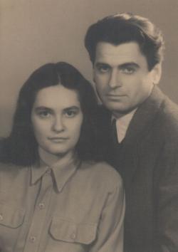 A fiatal házas Mészöly és Polcz Alaine